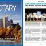 Rivista del Rotary Italia – Articoli sul nostro Club