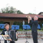 I maestri Gianni Fassetta e Giovanni Vello