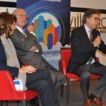 Il PDG Roberto Xausa, con Marco Milanesi e Antonella Desiderio