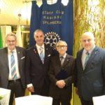 Visita al Club del Governatore del Distretto 2060 RICCARDO DEL PAOLA
