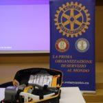 "Il Rotary Club Maniago - Spilimbergo ha consegnato il massaggiatore cardiaco ""Lucas 3.1"" all'Ospedale di Maniago"